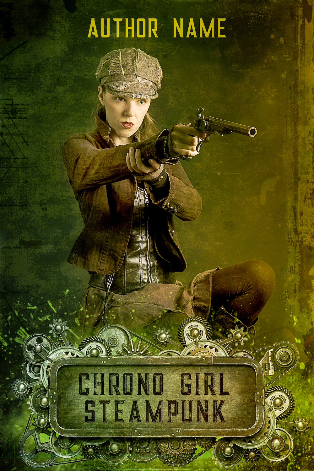 Chrono Girl Book 1 Premade Cover
