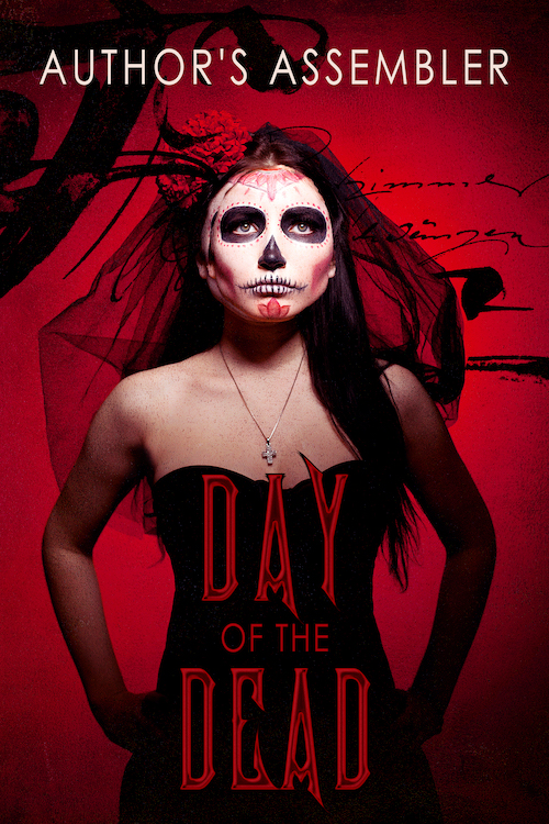 Mystery Horror Day of the Dead Premade Cover