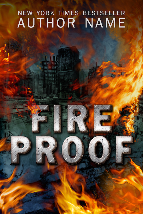 Post Apocalyptic Dystopian Premade Book Cover
