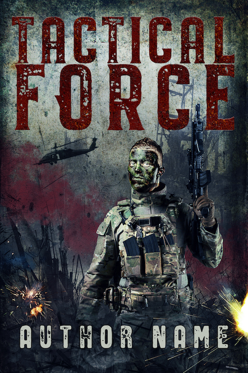 Military Thriller Military Scifi Premade Book Cover