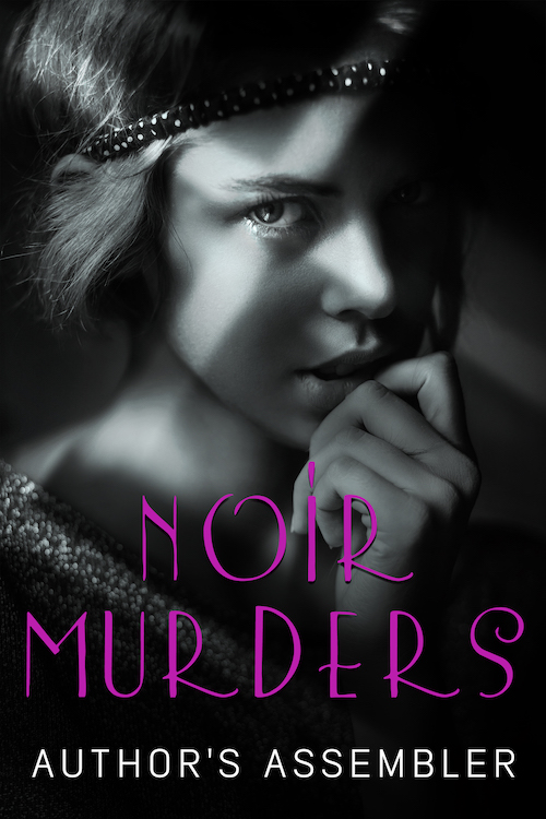 Noir Mystery Premade Book Cover