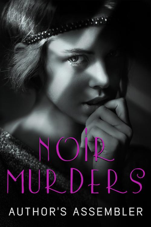 Noir Mystery Premade Book Cover