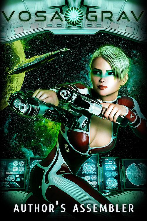 Hard Scifi Premade Book Cover for Sale