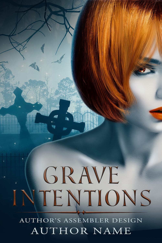 Fantasy Premade Cover - Grave Intentions