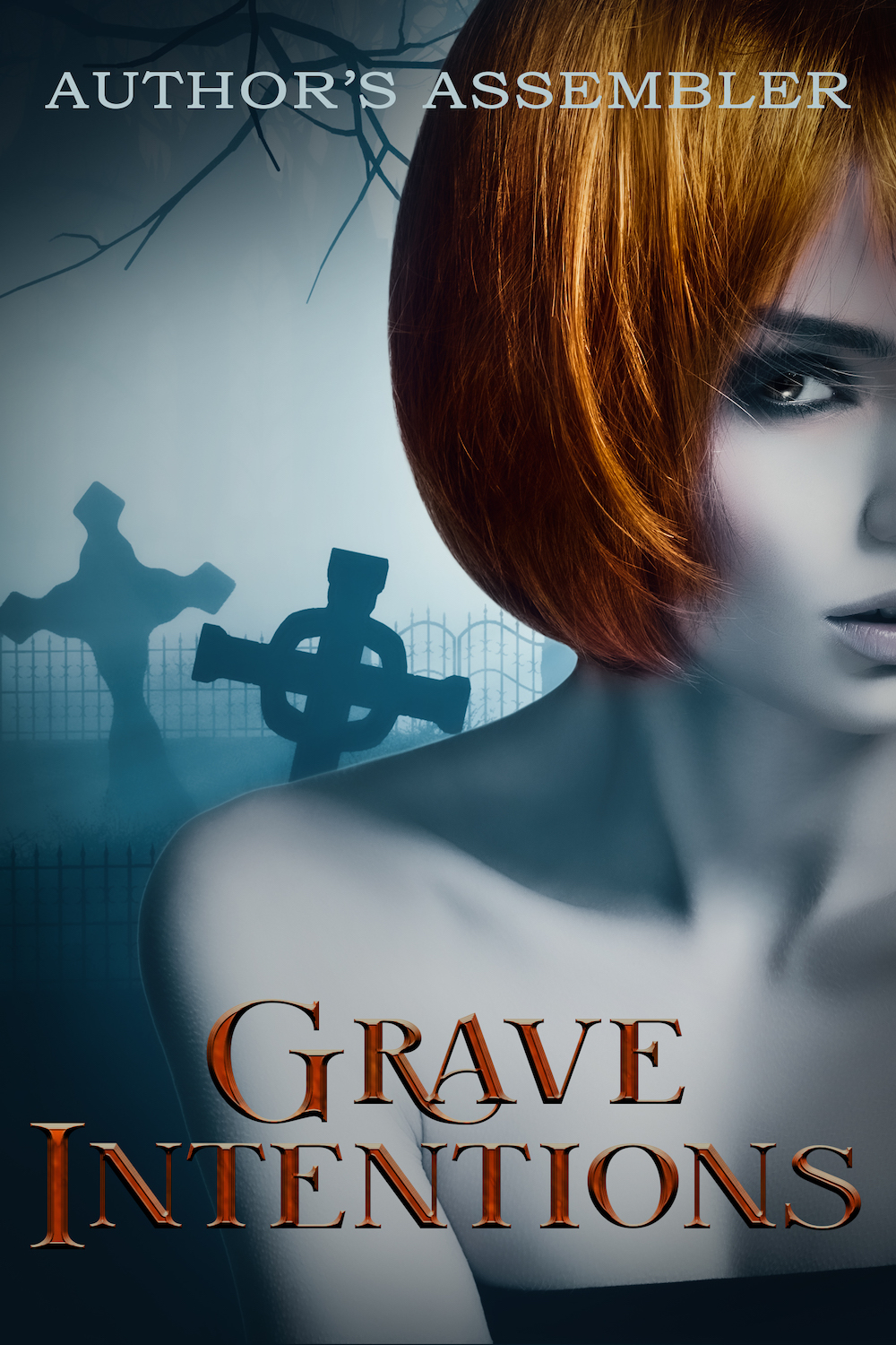 Grave Intentions Urban Fantasy Premade_1000px