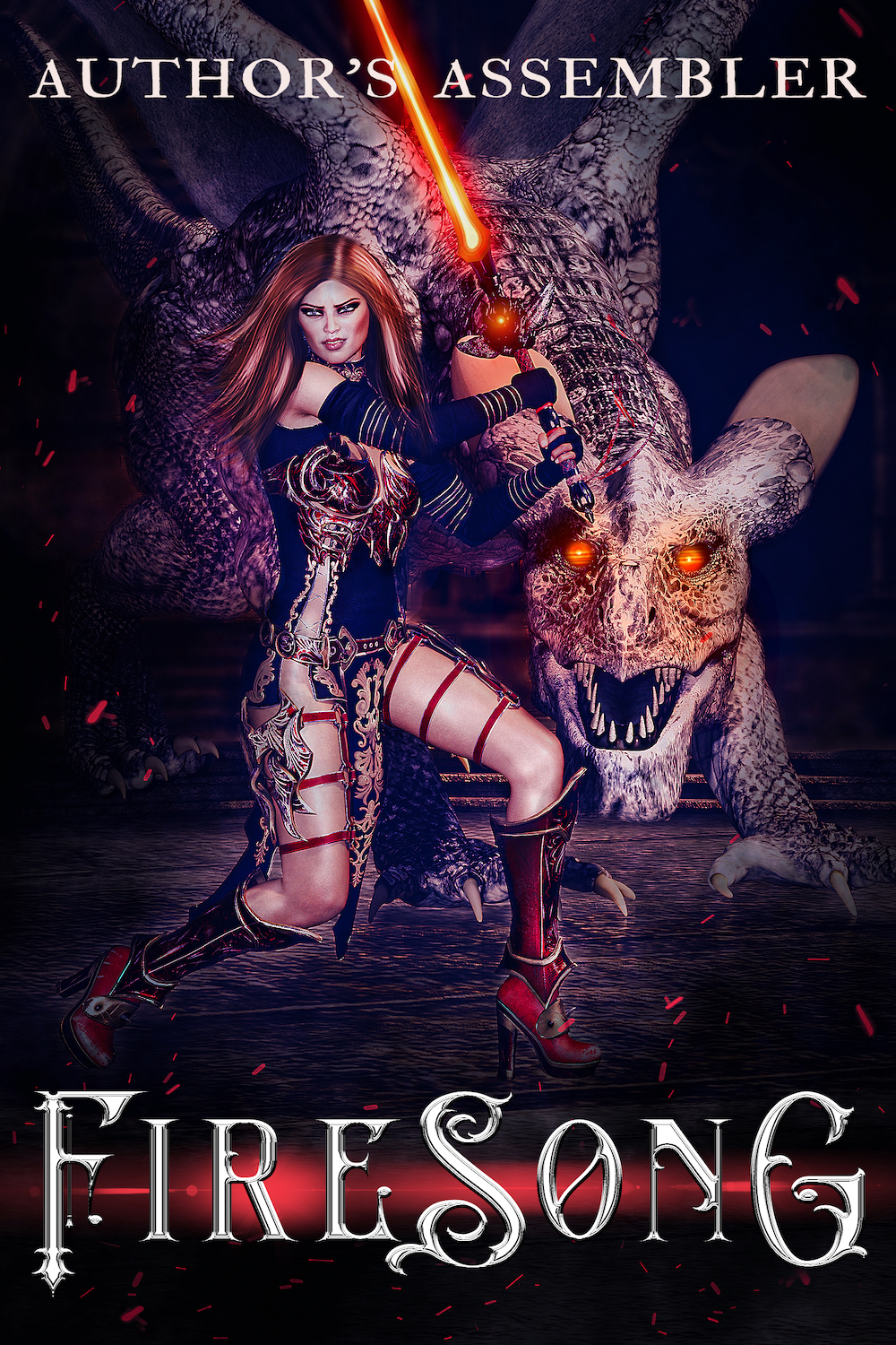 Epic Fantasy Premade Cover Series: FireSong