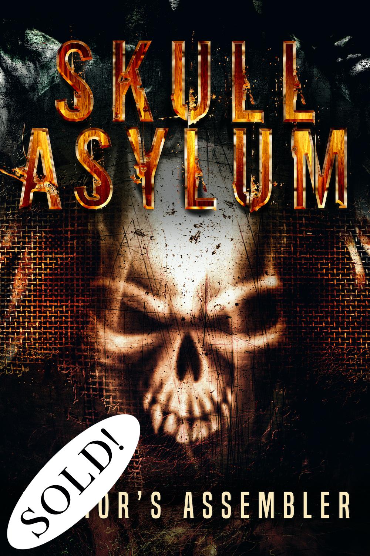 SOLD Horror Premade Skull Asylum_1000px
