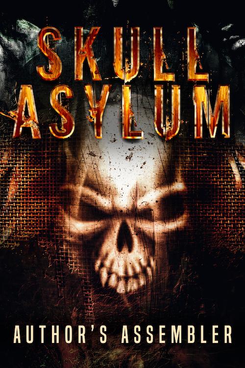 Skull Asylum Horror Premade Cover