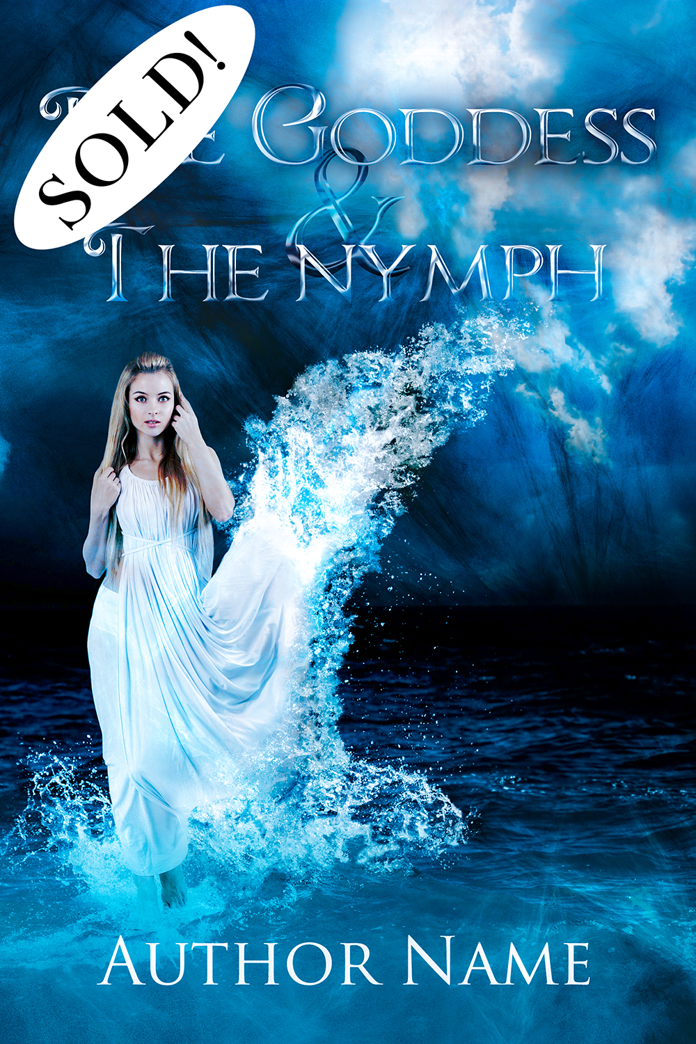 SOLD Fantasy Premade - The Goddess and the Nymph_1000px