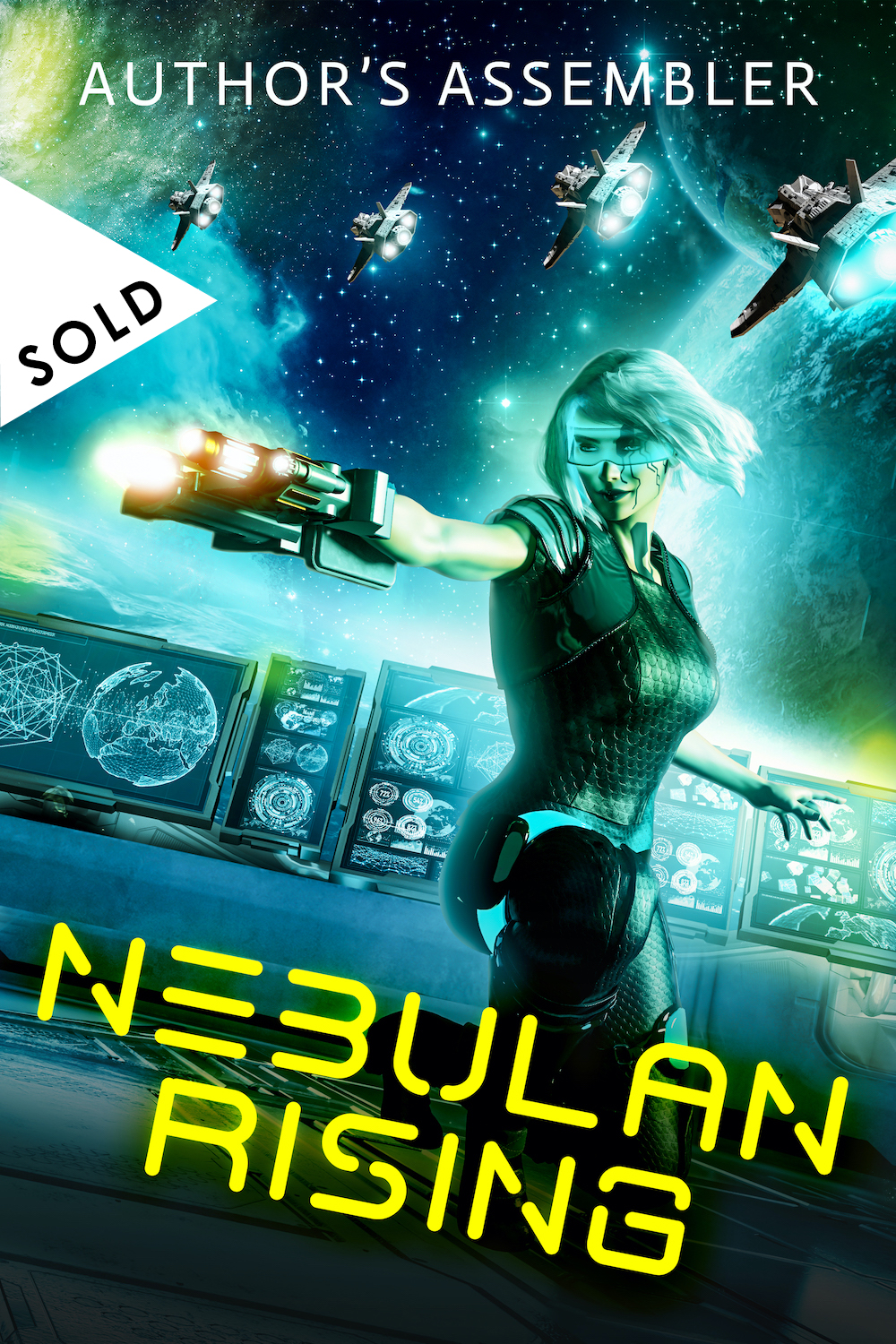 SOLD Scifi Premade - Nebulan Rising_1000px