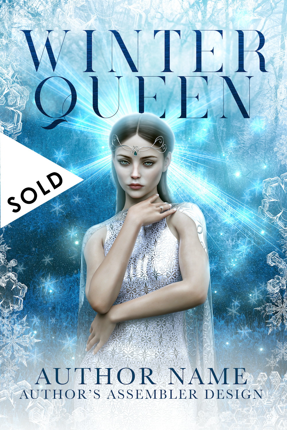 SOLD Fantasy Premade - Winter Queen_1000px