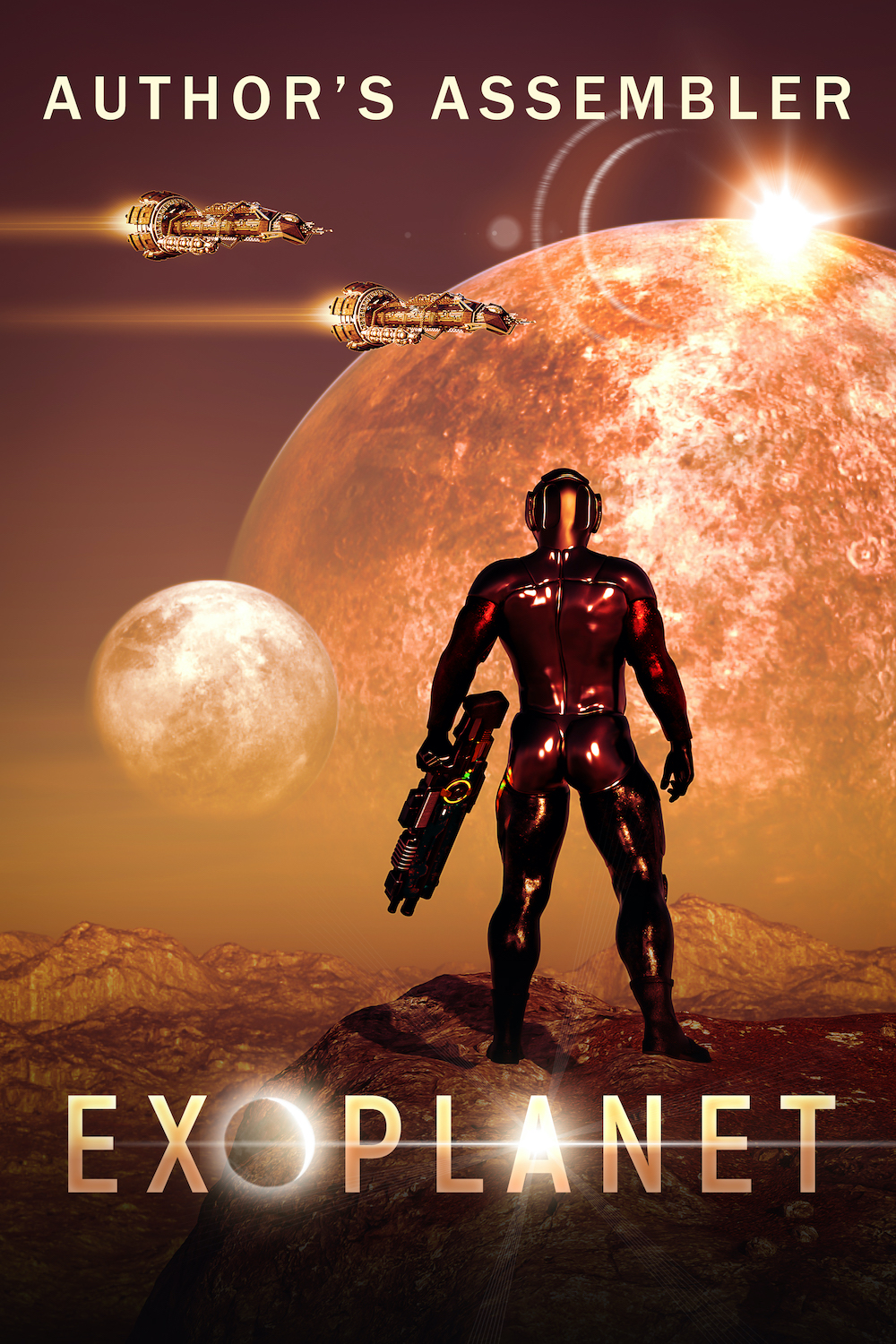 Scifi Premade Cover: Exoplanet