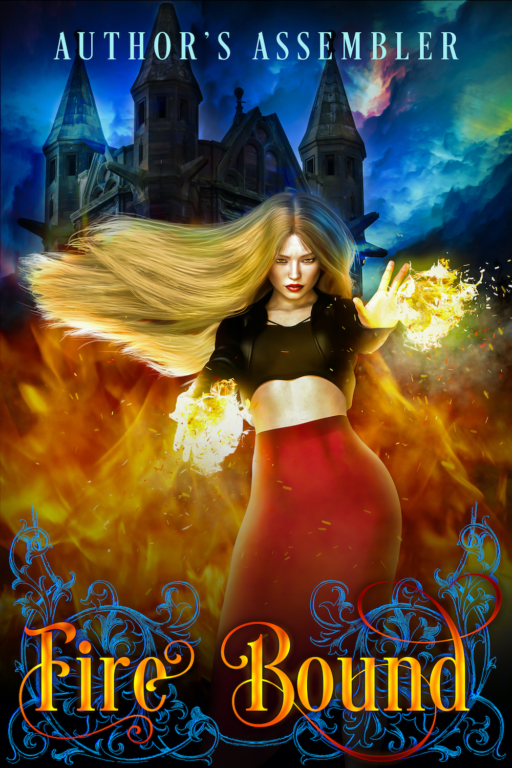 Urban Fantasy Premade - Fire Bound_1000px