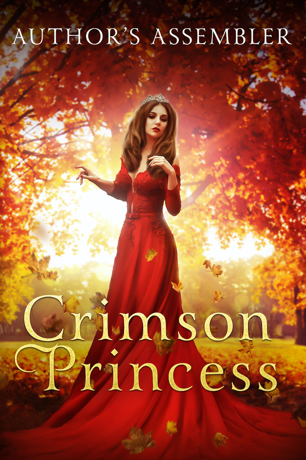 Fantasy Premade - The Crimson Goddess_1000px