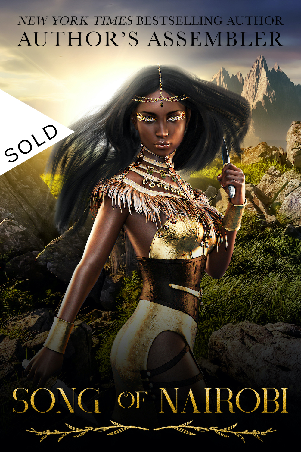 SOLD Fantasy Premade - Song of Nairobi_1000px