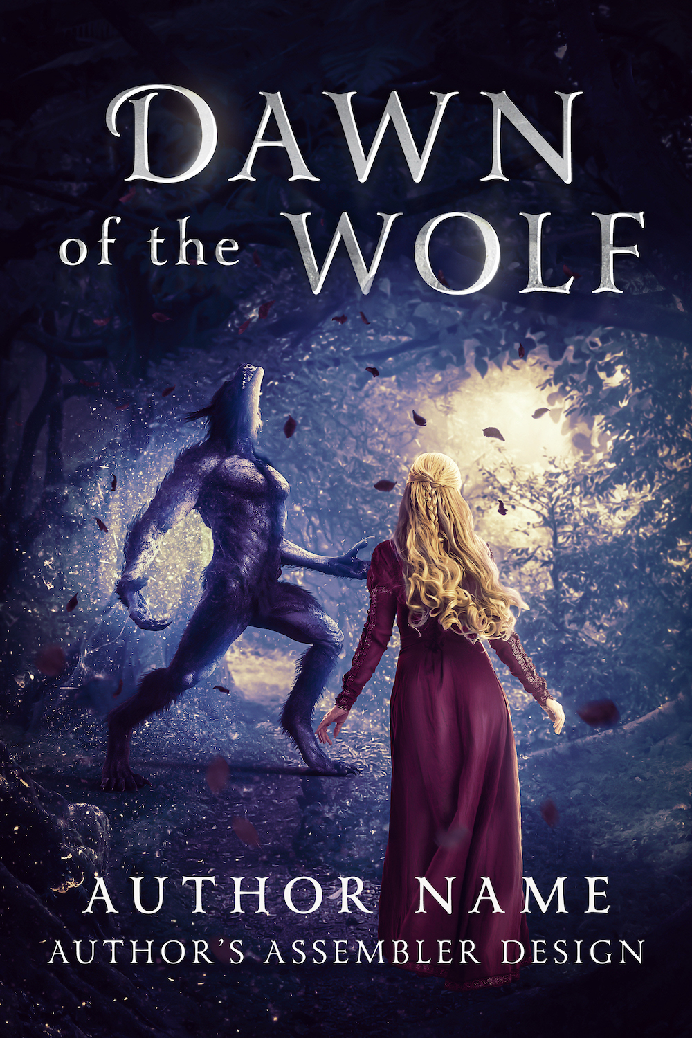 Fantasy Premade - Dawn of the Wolf_Site