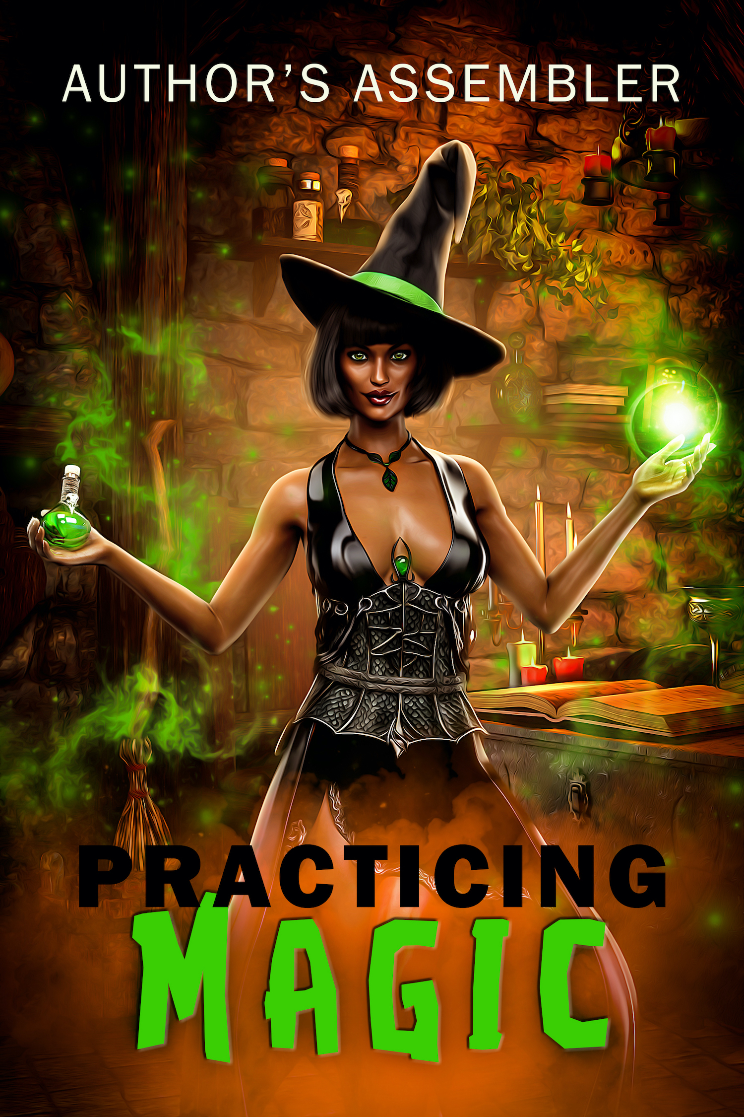 Fantasy Premade - Practicing Magic_1500px