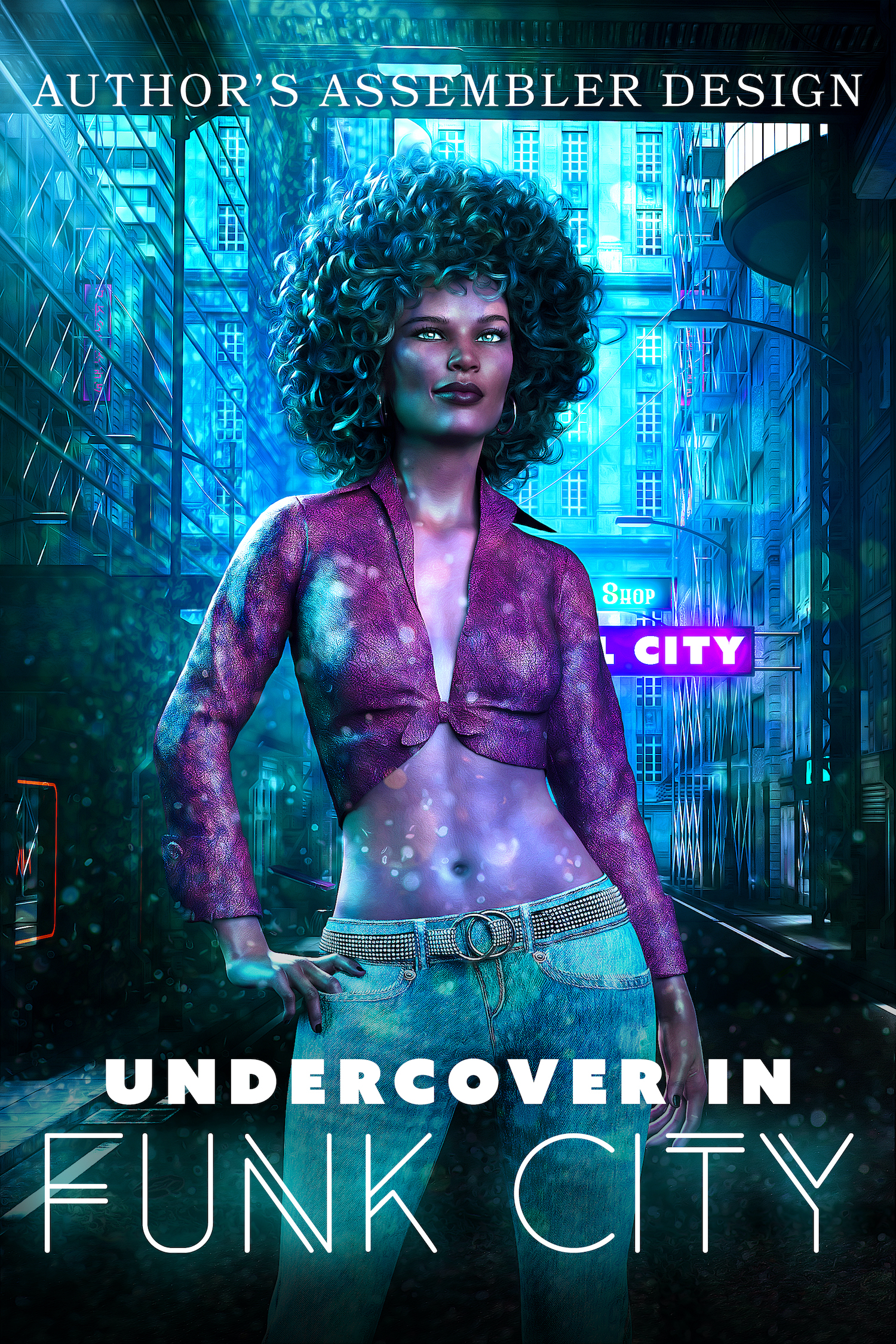 Fantasy Premade - Undercover in Funk City_1500px