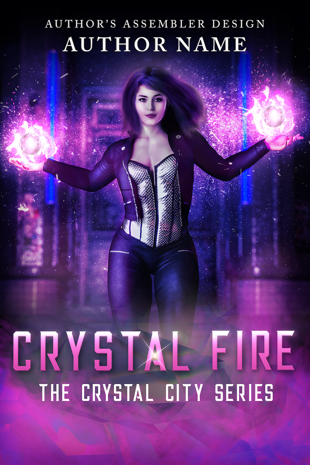 Fantasy Premade - Crystal Fire_site