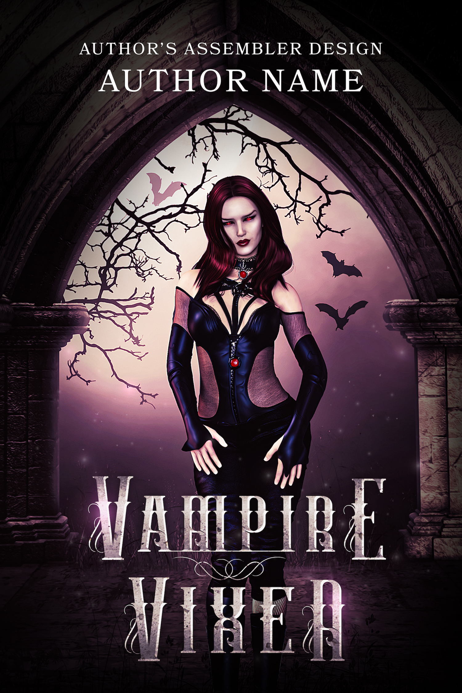 Fantasy Premade - Vampire Vixen_1500px