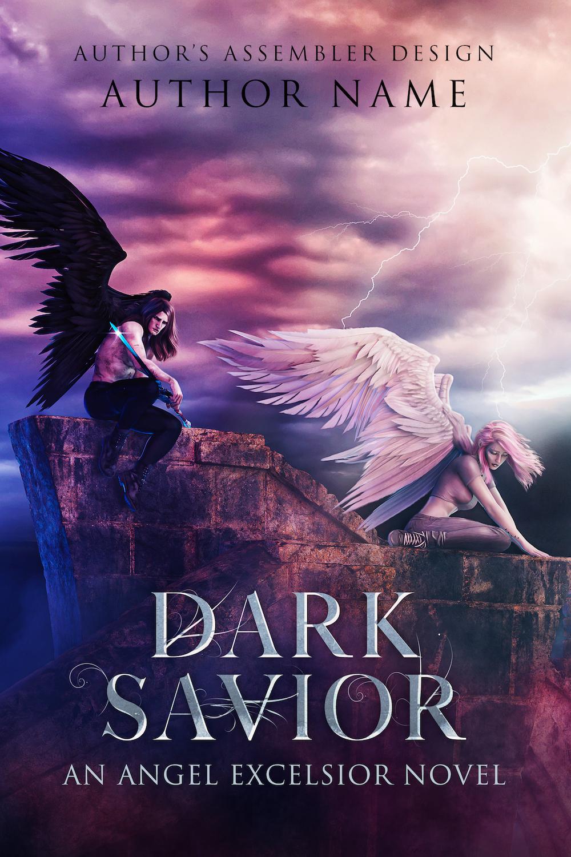 Fantasy Premade Cover - Dark Savior