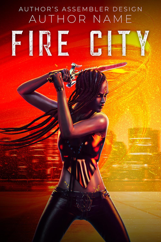 Fantasy Premade Cover - Fire City_Site