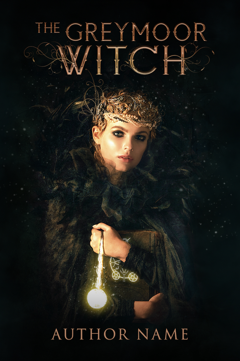 Fantasy Premade Cover - The Greymoor Witch - Site