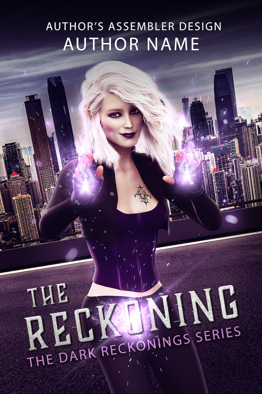 Fantasy Premade Cover - The Reckoning