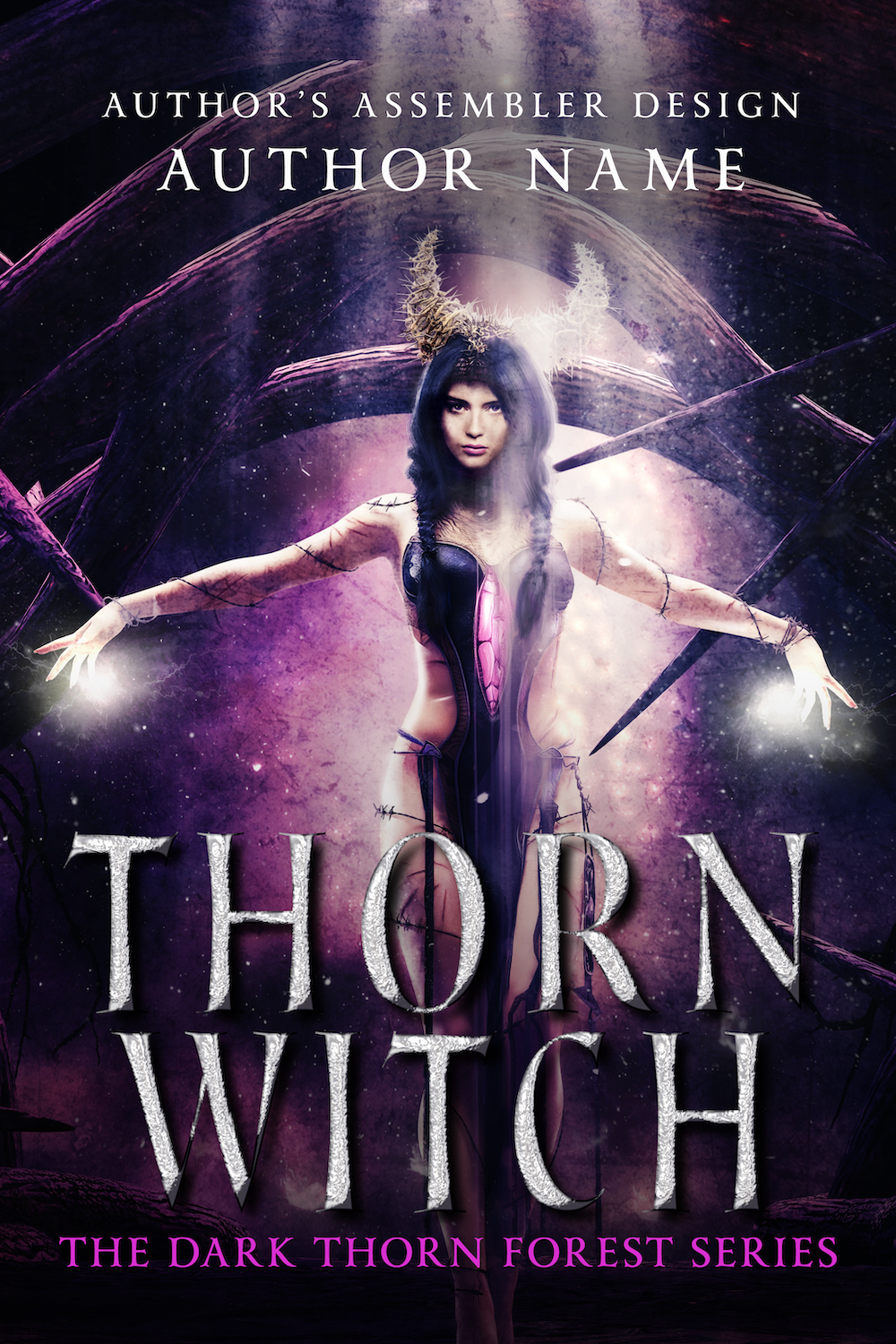 Fantasy Premade Cover - Thorn Witch