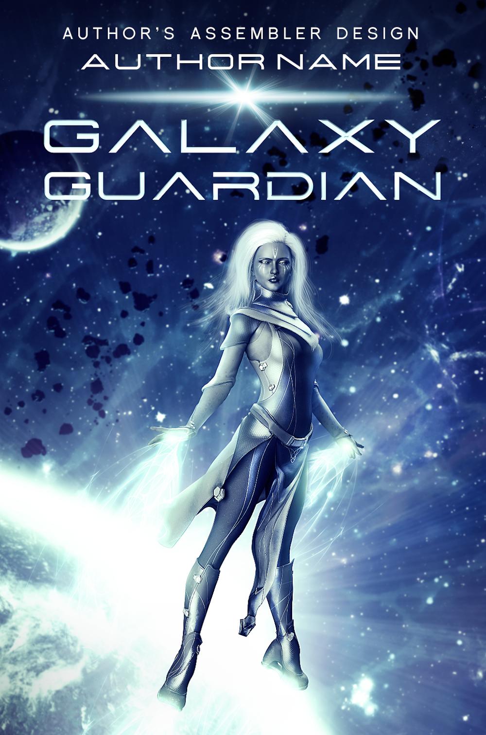 Scifi Premade Cover - Galaxy Guardian