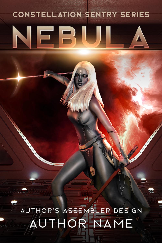 Scifi Premade Cover - Nebula