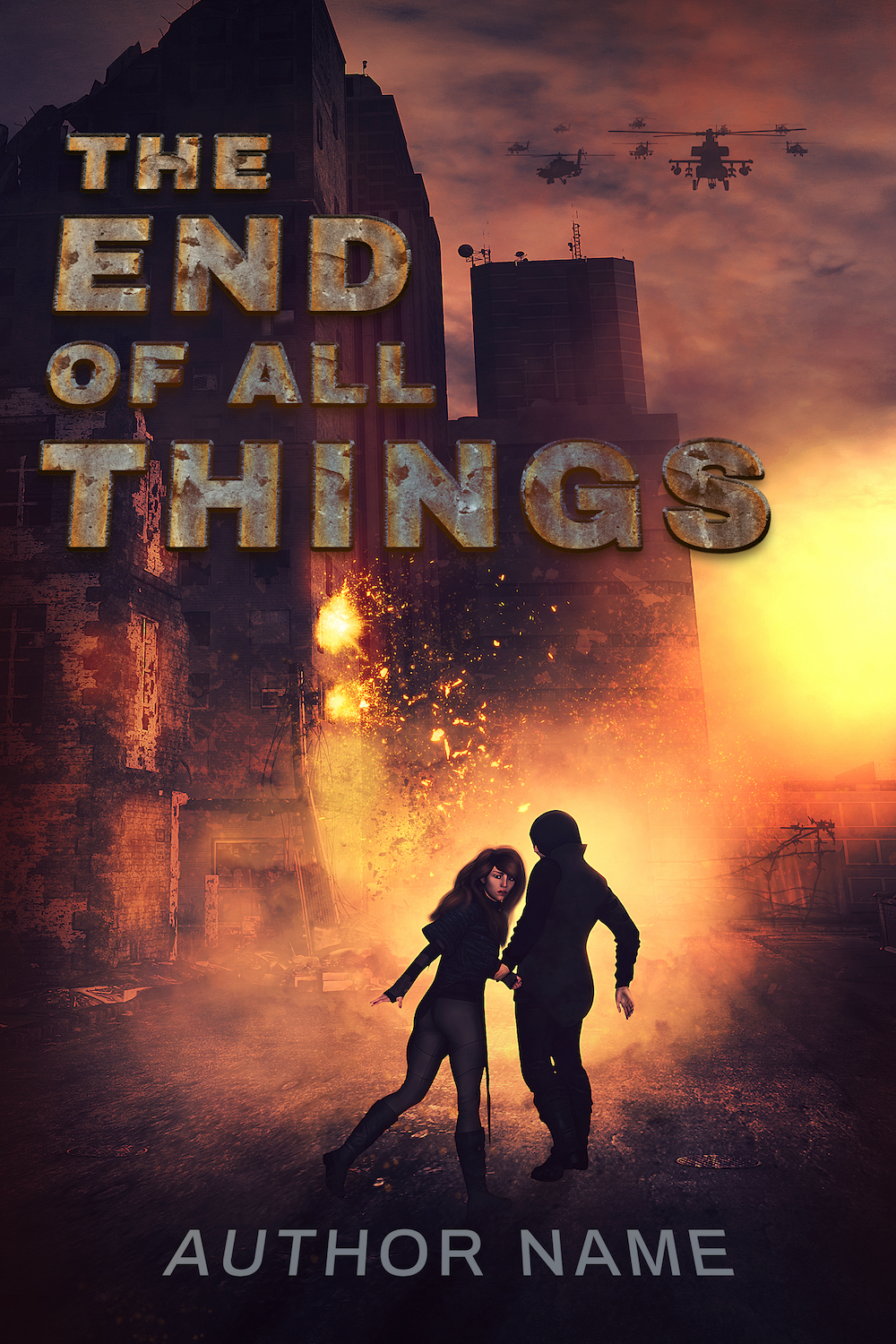 Scifi Premade Cover - The End of All Things