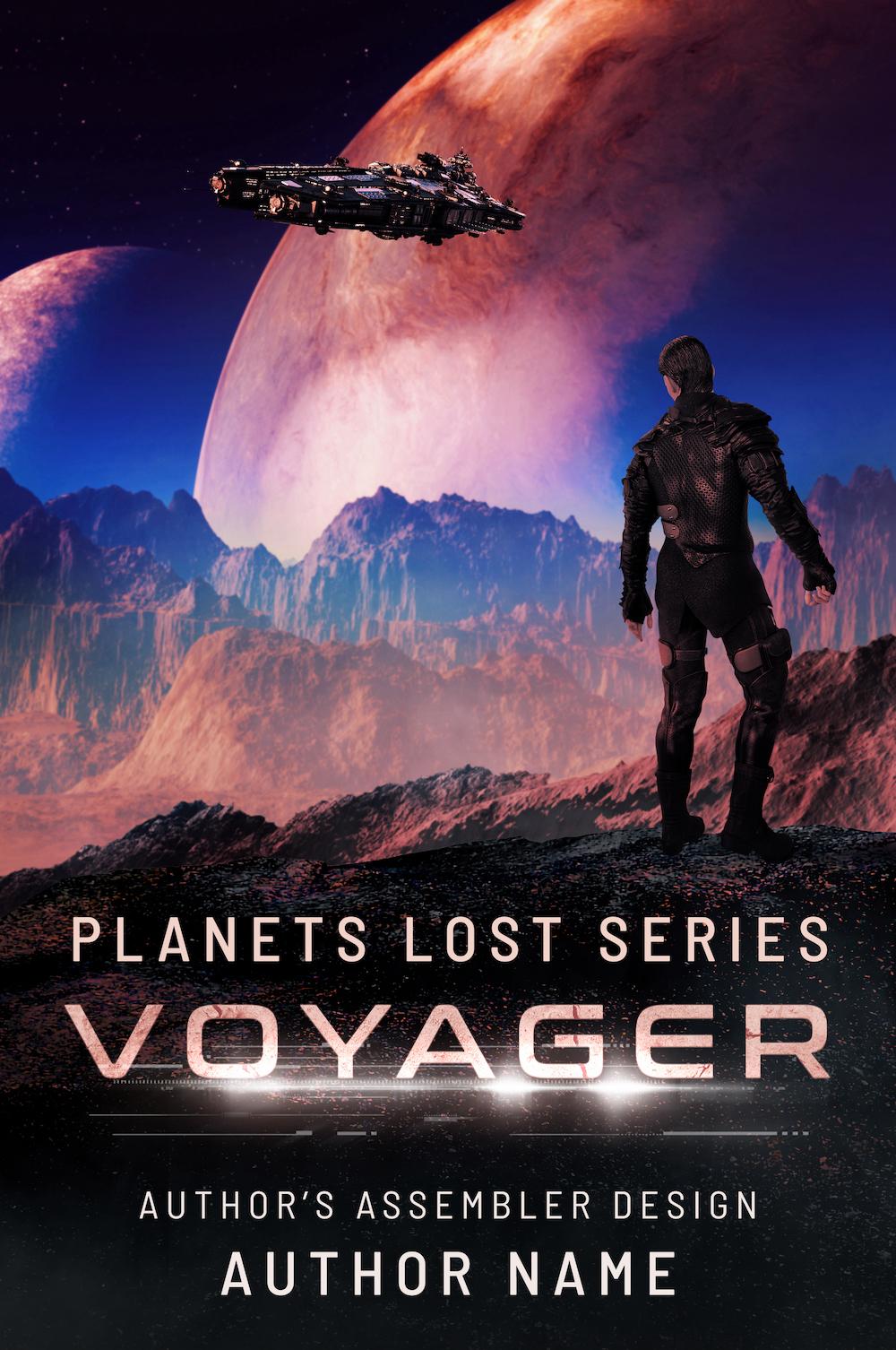 Scifi Premade Cover - Voyager